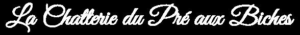 Logo mobile La chaterrie du pré aux biches